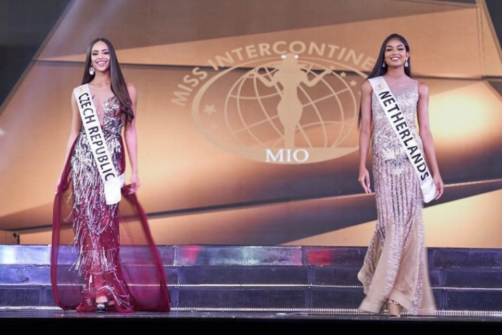 Mirka Pikolová TOP 20 Miss Intercontinental 2019